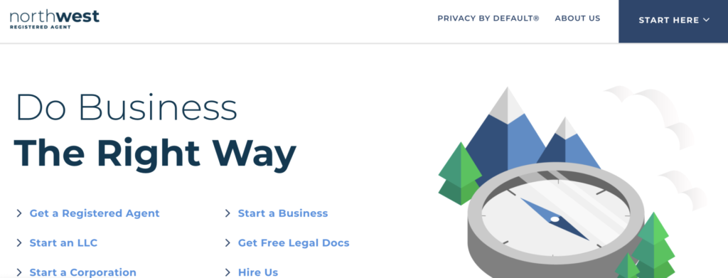 northwest registered agent website