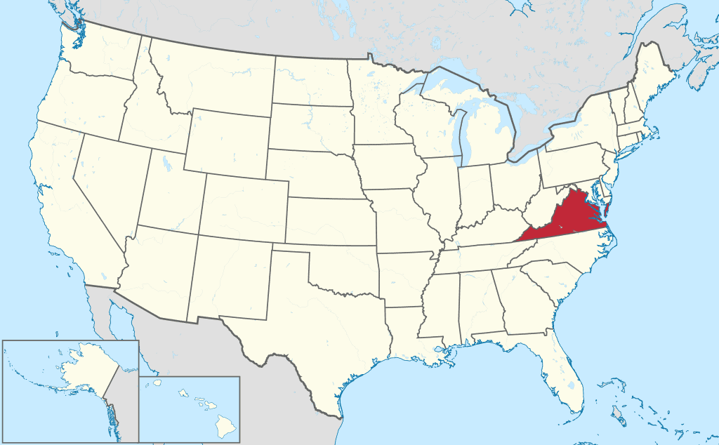 How to form an LLC in Virginia - United-States Map