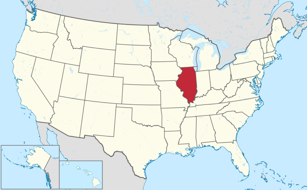 How-to-start-an-LLC-in-IL-USA-Map