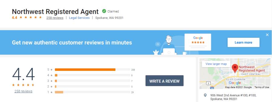 Northwest-Registered-Agents-Birdeye-Reviews