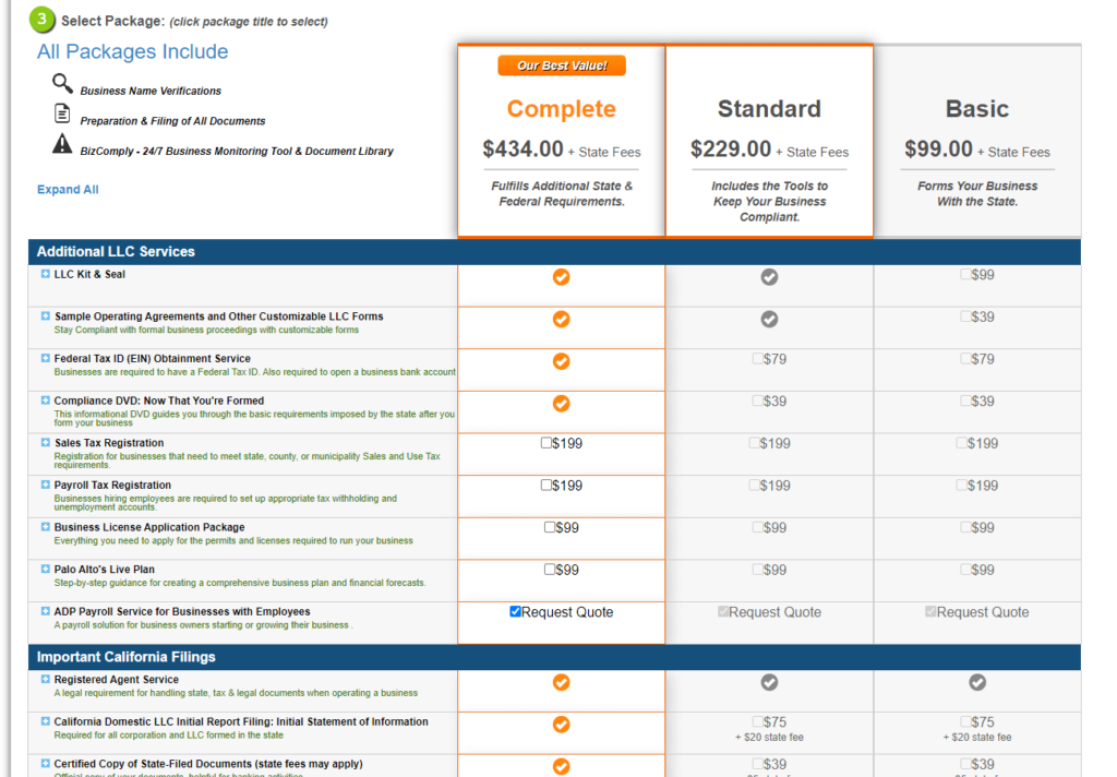 Create-your-Formation-Order-BizFilings-Packages-and-Pricing-1