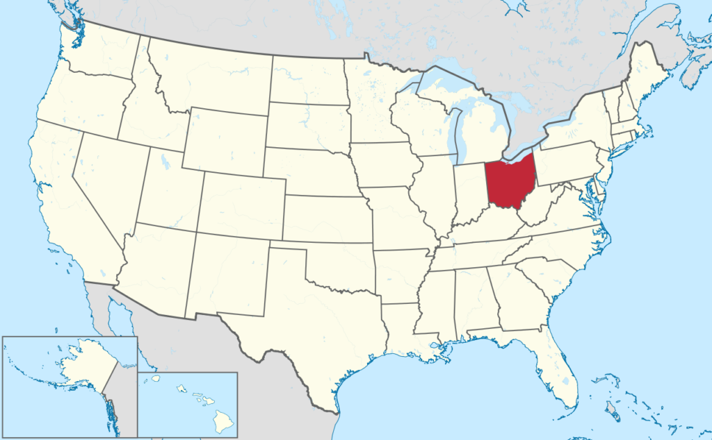How to Form an LLC in Ohio - United States Map