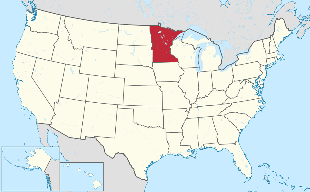 How to Form an LLC in Minnesota - Map of United States
