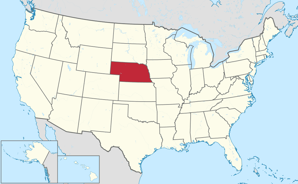 How to Form an LLC in Nebraska - United States Map