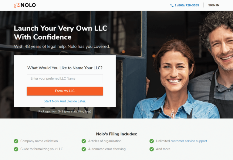 Start-a-Limited-Liability-Company-Online-LLC-Formation-Nolo-1