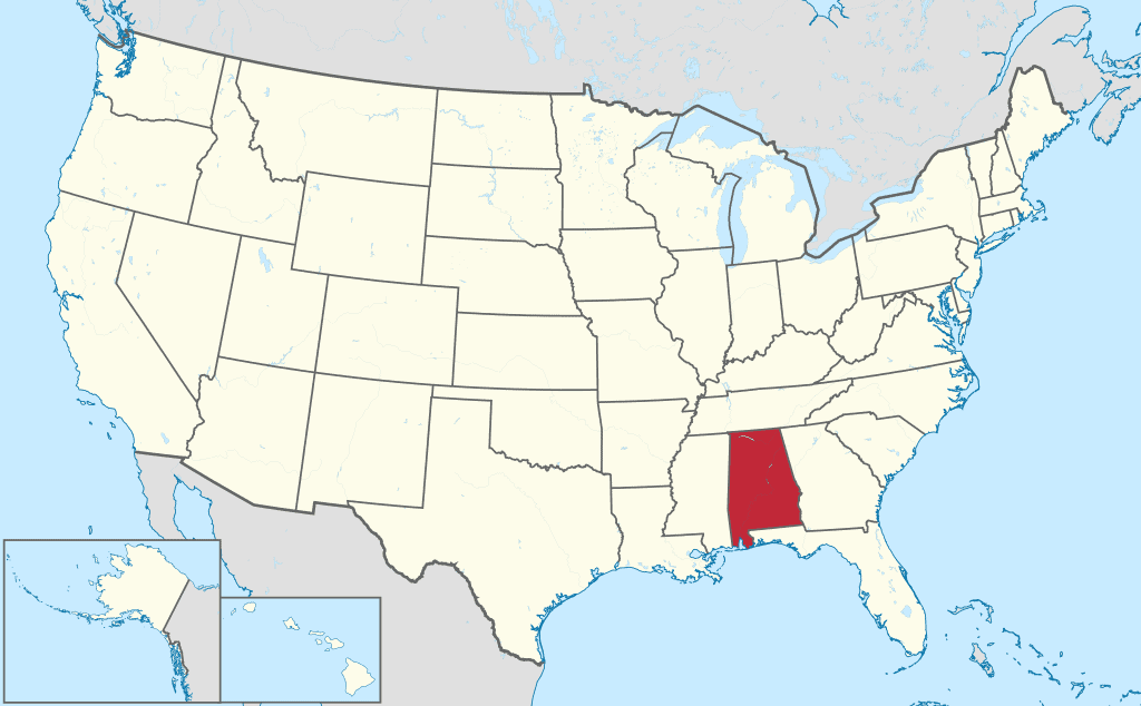 How to Form an LLC in Alabama - United States Map