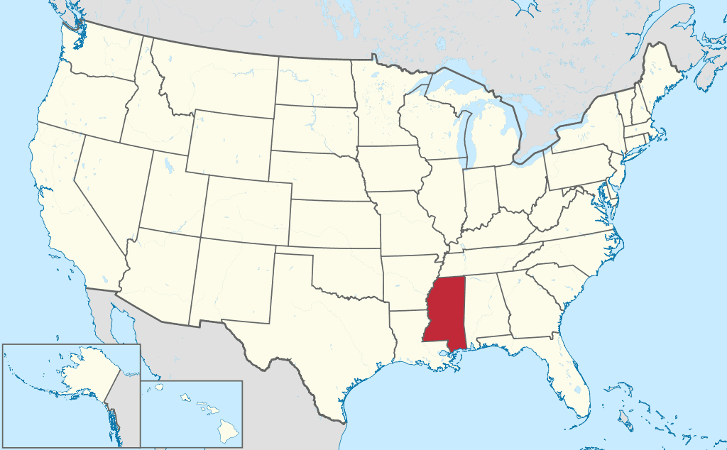 How-to-form-an-LLC-in-Mississippi-United-States-map