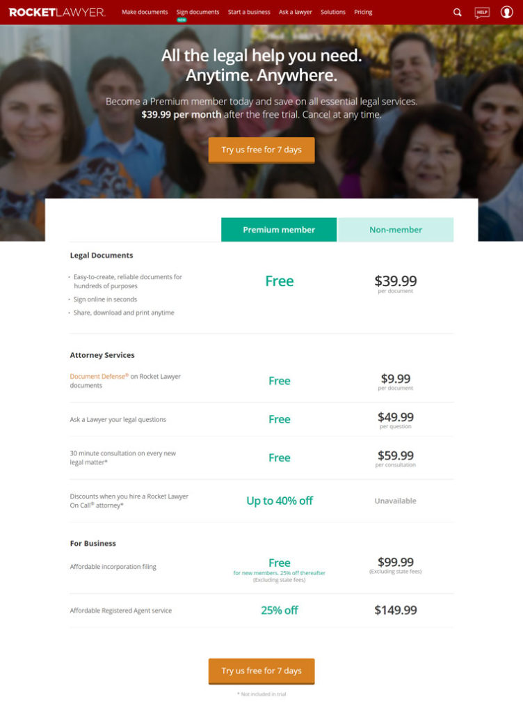 LegalZoom - Legal Plans Legal Services Plans and Pricing