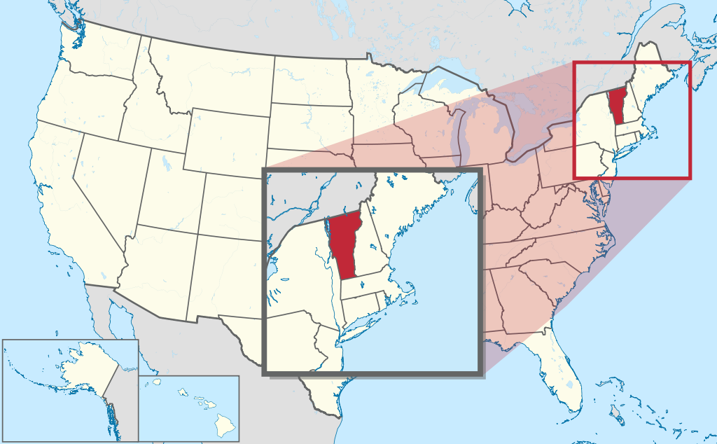 How to Form an LLC in Vermont - Map Vermont in United States