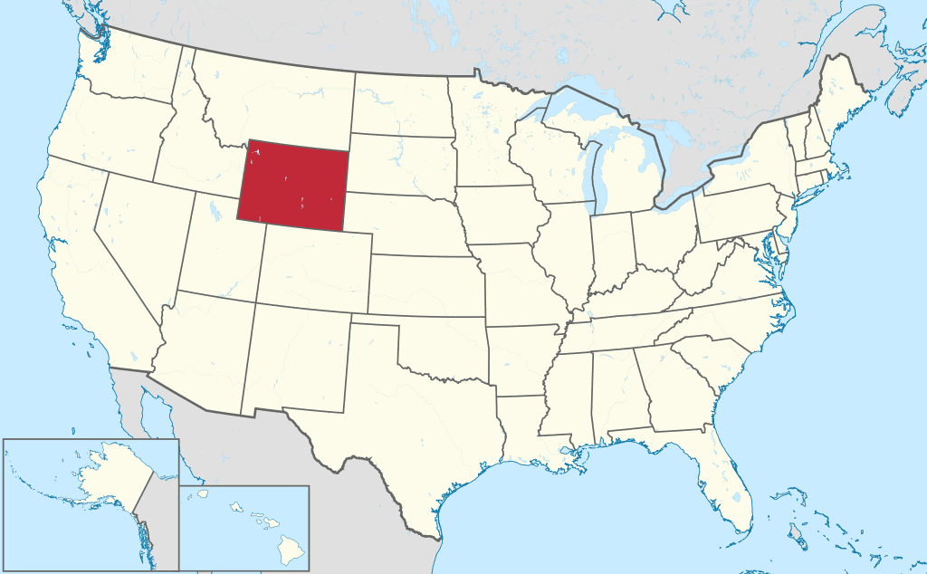How to Form an LLC in Wyoming -United States Map