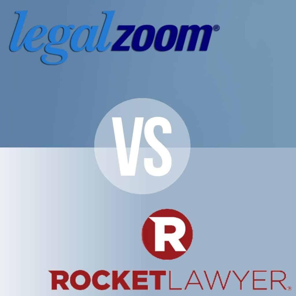 LegalZoom vs Rocket Lawyer