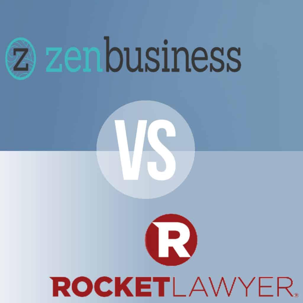 ZenBusiness vs Rocket Lawyer